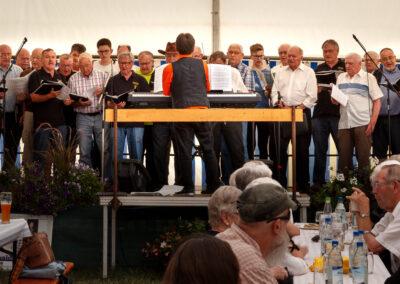 2019 Schutzhütte Männerchor