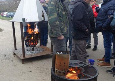 2020 Glühweinfest Feuerkörbe
